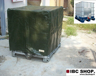 Cover Tank 1000L Water Coverage Protection U.v Anti Algae - Cover For Ibc