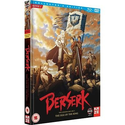 Berserk : Egg Of The King - Collectors Edition - Manga - New Blu-Ray & DVD