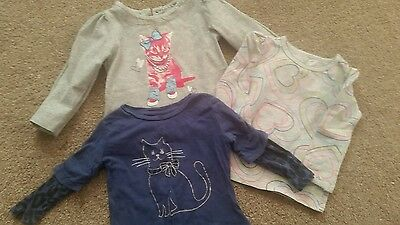 Baby girl's tops 6-9 months Gap