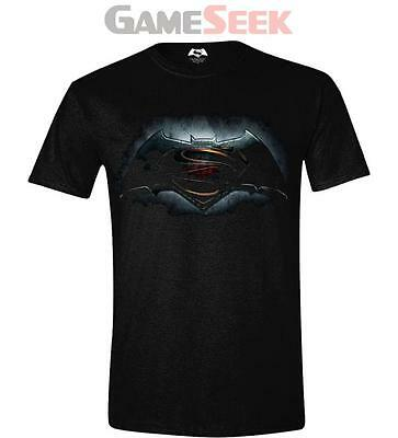 Dc Comics Batman Vs Superman: Dawn Of Justice Adult Logo T-Shirt L