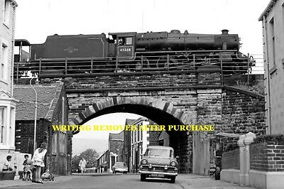 Todmorden Bf No 45388 23Rd July 1963 6X4 Print