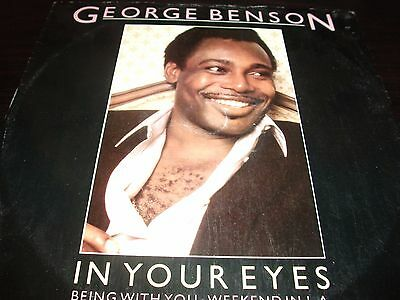 "12"" Vinyl Record/ George Benson - In Your Eyes : Vg"