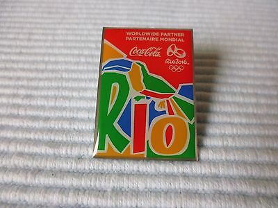 1 COCA COLA OLYMPIA !!! RIO 2016 !!!  PIN LIMITED EDTION a