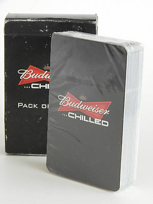 Budweiser Playing Cards New & Sealed