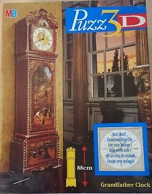 Puzz 3D Grandfather Clock 777 Piece Jigsaw Puzzle Christmas gift Complete VGC