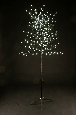 7ft 2.1m 220 LED Lights Christmas Xmas Cherry Blossom Tree Indoor Or Outdoor