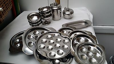 Mixed Stainless Steel Food Serving Dishes