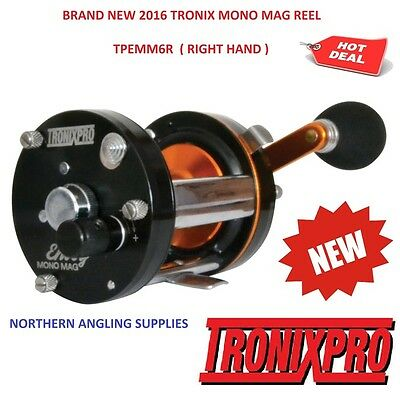 Tronix Envoy Mono Mag Multiplier Reel For Sea Fishing Baitcaster Beachcaster Rod