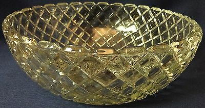 "Waterford Crystal Large Berry Bowl 8.25"" Hocking Glass Company"