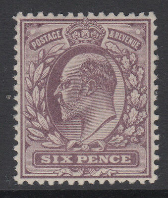 SG 246 6d  Slate Purple M31 (2) in fine and fresh unmounted mint condition .