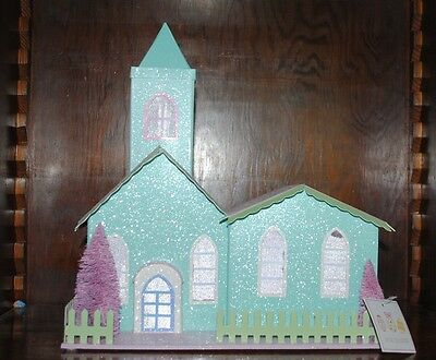 """Easter """"Spring Collection"""" Lighted Battery Operated House"""