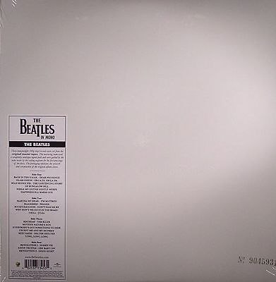 BEATLES, The - The White Album (mono) (remastered) - Vinyl (2xLP)