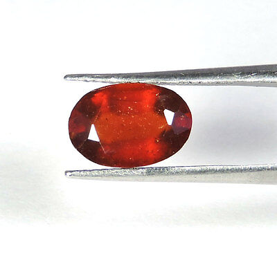 3.00Cts. ULTRA LUSTROUS 100% NATURAL UNHEATED AXINITE OVAL CUT LOOSE GEMSTONE