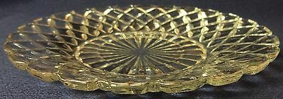Waterford Crystal Saucer Set of 4 Hocking Glass Company