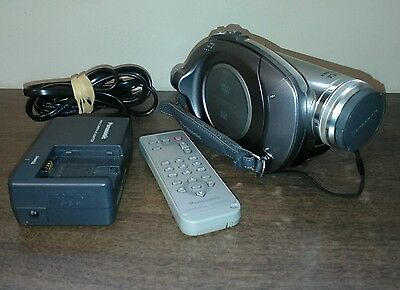 Panasonic VDR-D310-S DVD Camcorder W/ Charger and Remote WORKS GREAT