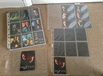 X Files Fight The Future Trading Cards, 6 Autograph Cards, Chase Cards