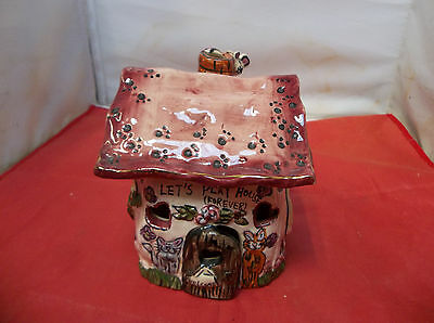 i22/h80 Blue Sky Heather Goldmine Lets Play House Forever Cat Mouse Tealight