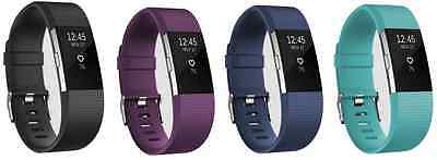 Fitbit Charge 2 Fitness Tracker - All Colours & Sizes + Free Delivery