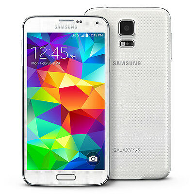 New Samsung Galaxy S5 S-V Sm-G900F Mobile Phone Camera Phone Progs