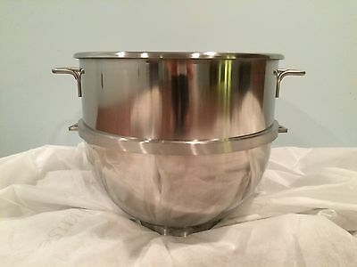 New 80 Quart Qt Stainless Steel Mixing Mixer Bowl for Hobart Mixers M802