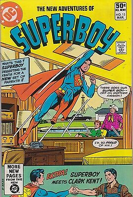 New Adventures Of Superboy #15 Dc 1981 Combined Shipping Available