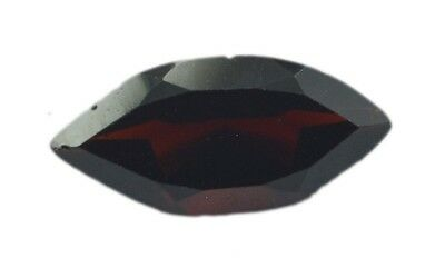 Red Marquise Faceted Garnet gems 7X14 1 pc US