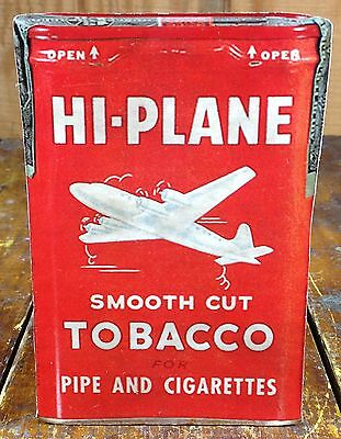 Hi-Plane Smooth Cut Tobacco For Pipes Cigarettes Store Ad Cardboard Counter Sign