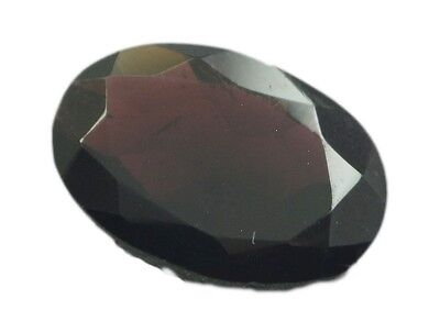 Red Oval Faceted Garnet gems 13X18 1 pc US