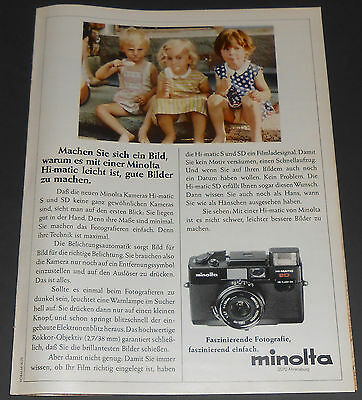 1979 vintage ad - MINOLTA - LITTLE GIRLS PANTIES UNDERWEAR 1-PAGE PRINT ADVERT
