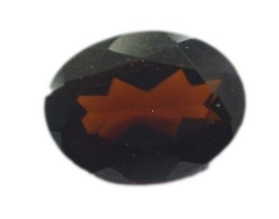 Red Oval Faceted Garnet gems 6X8 1 pc US