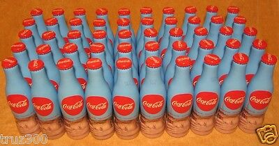 Coca-Cola 50 empty aluminum bottles Russia 2016 is not sold in stores. RAR