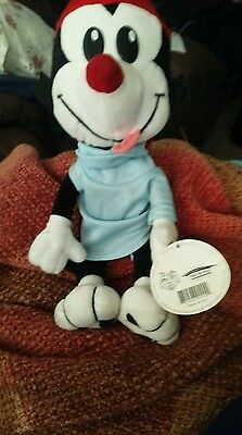 "19"" 1995 WAKKO WACKO ANIMANIACS WARNER BROS Play by Play Large Big PLUSH"