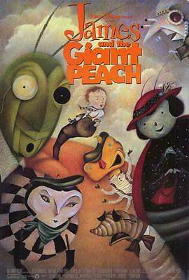 James and the Giant Peach Movie POSTER 27 x 40 Paul Terry, B, LICENSED