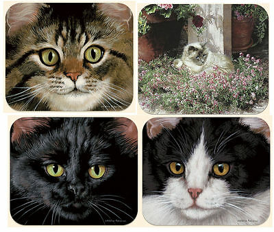 New - Four Cat Mouse Pads