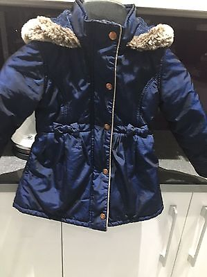Girls Ted Baker Coat Age 3/4