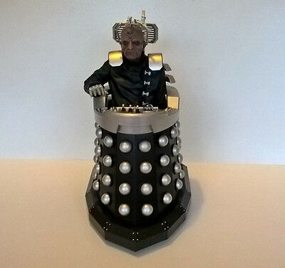 """Dr Who 13"""" tall Davros Dalek. Ex remote control. For display."""