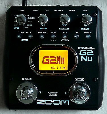 Zoom G2Nu Multi effects pedal