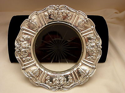Reed And Barton Francis I Sterling Silver & Glass Lemon Dish