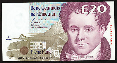 Ireland 20 Pounds C Series 1999 Uncirculated