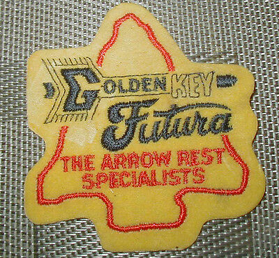 Vintage Golden Key Futura Arrow Specialists Embroidered Patch - Unused