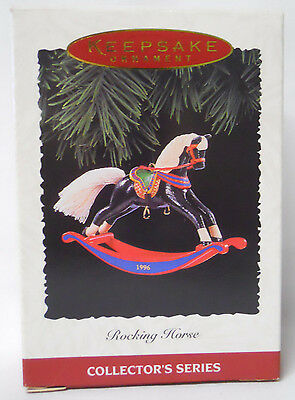 VINTAGE! 1996 Hallmark Keepsake Ornament Rocking Horse-QX5674