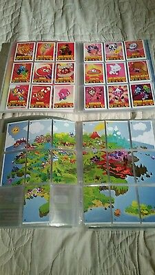 moshi monsters collector binders with collectable trading cards
