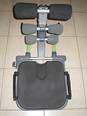 Appareil abdominaux Total core Fitness musculation + accessoire + dvd