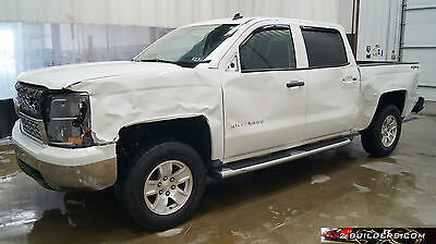 2014 Chevrolet Silverado 1500 LT Crew Cab Pickup 4-Door 2014 Chevrolet Silverado 1500 LT 5.3L Salvage Title, Repairable, Rebuildable