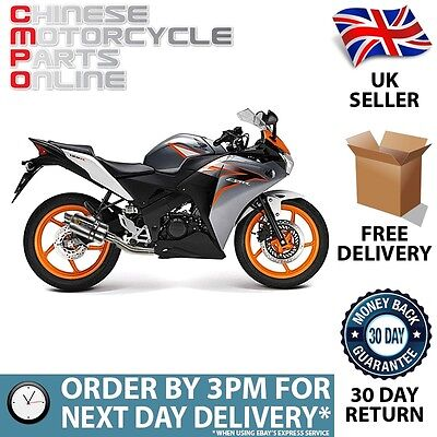 YP4 S/Steel Stubby Exhaust System for Honda CBR125R 2015