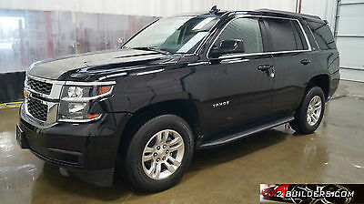 2015 Chevrolet Tahoe LS Sport Utility 4-Door 2015 Chevrolet Tahoe LS 5.3L, Salvage Title, Repairable, Rebuildable