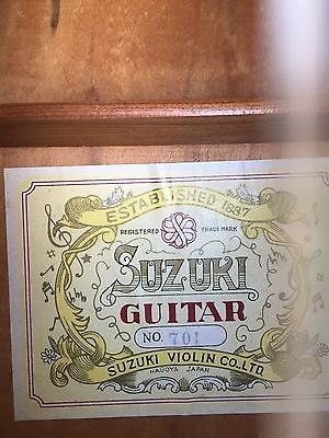 Suzuki 701 Classical Guitar with case, Japan