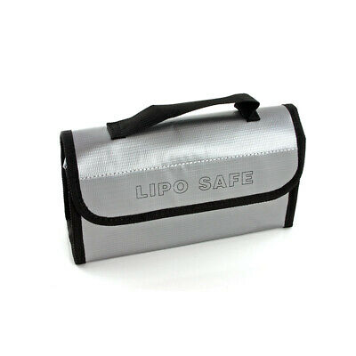 LiPo Safe Battery Charging CASE Explosion Fire Proof Pouch Sack Handle Bag USA!