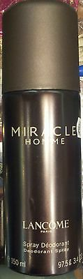 Miracle Homme Lancome for men DEODORANT 150 ml.ORIGINAL