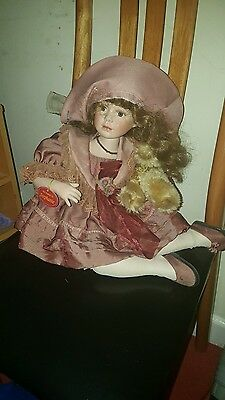 Porcelain doll limited edition